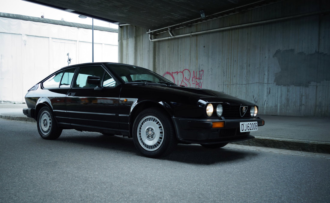 "36 ALFA GTV6 ""BLACK DIAMOND"" - Benzina - Vintage Car Finder"