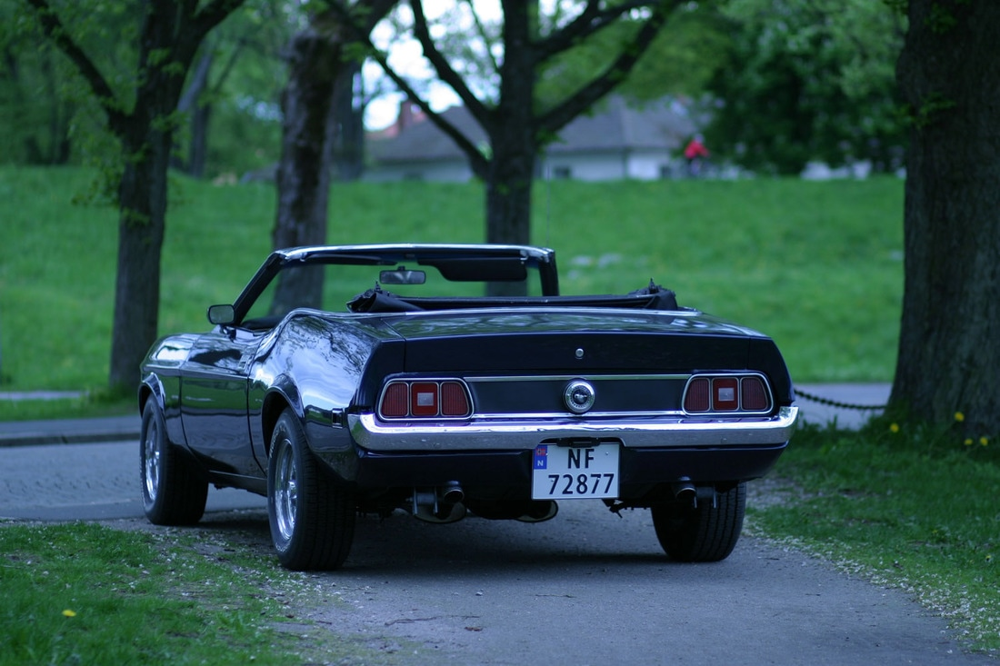 035 Ford Mustang 72 Cabriolet - Benzina - Vintage Car Finder